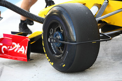 Tire device on the Renault