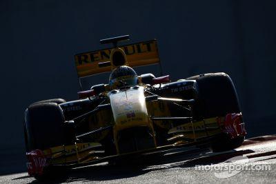 Abu Dhabi Pirelli test