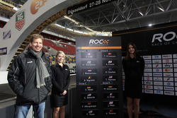 Draw for the race order: ROC organiser Frederik Johnson