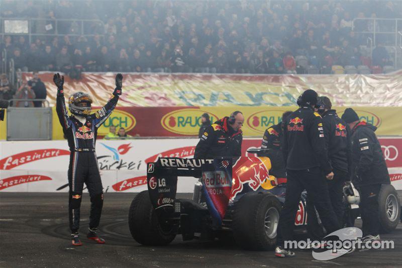Sebastian Vettel in de Red Bull Racing F1
