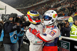 Race of Champions winner Filipe Albuquerque, second place Sébastien Loeb