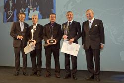Wolfgang Dürheimer, Raymond Narac, Klaus Graf, Gianluca Roda, Dr. Wolfgang Porsche