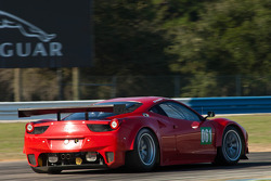#061 Risi Competizione Ferrari F458 Italia: Jaime Melo, Toni Vilander