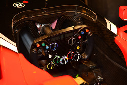 The new Marussia Virgin Racing MVR-02 steering wheel