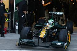 Heikki Kovalainen, Team Lotus, TL11