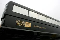 Lotus Renault GP motorhome