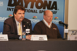 Mike Helton and John Darby