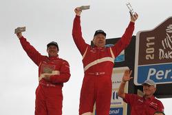 Podium : 23e place pour la catégorie voitures, Frédéric Chavigny et Willy Alcaraz