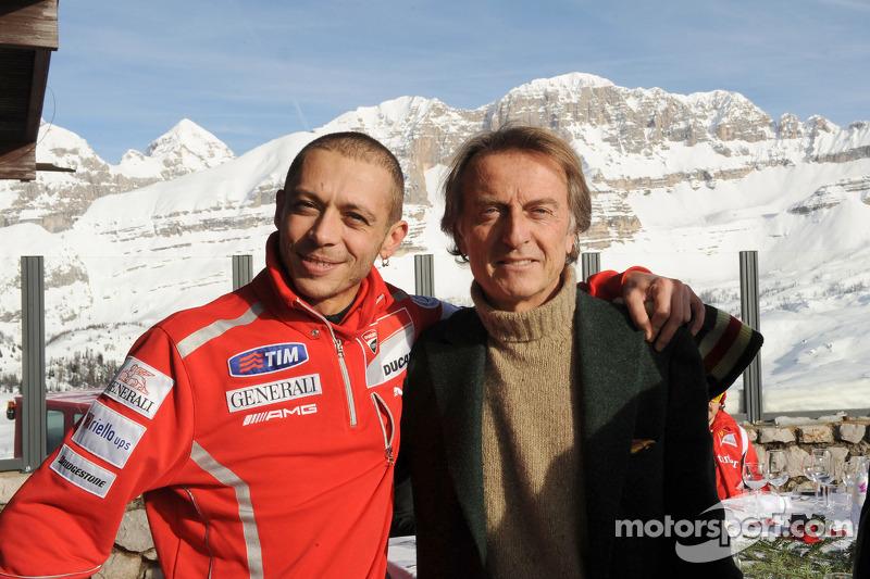 Valentino Rossi, Luca di Montezemolo