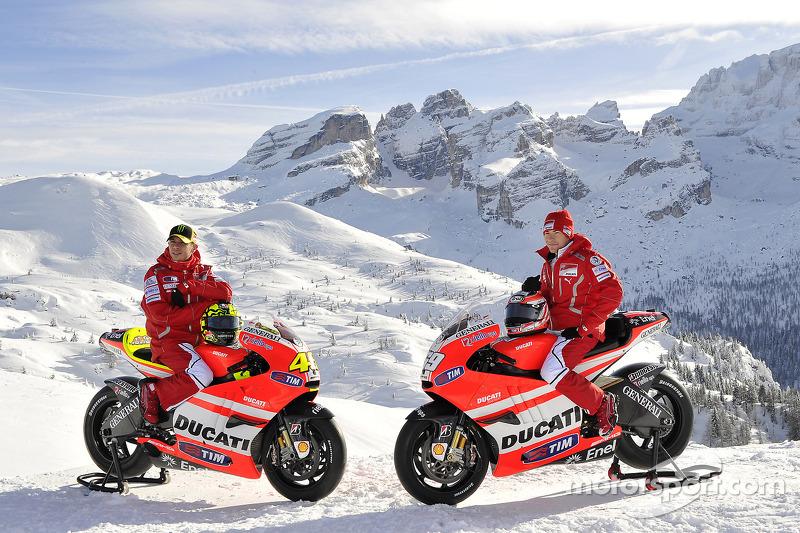 2011 - Valentino Rossi et Nicky Hayden