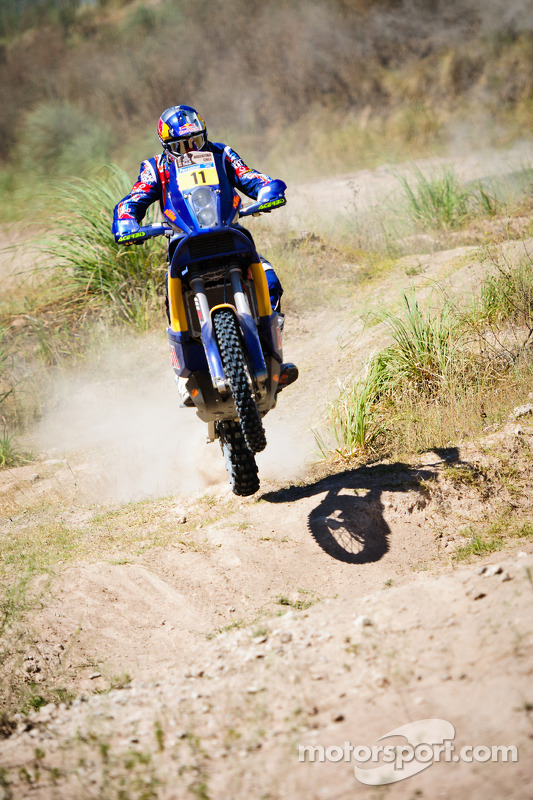KTM-test voorafgaand aan scrutineering: Ruben Faria