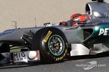 Seven-times World Champion Michael Schumacher