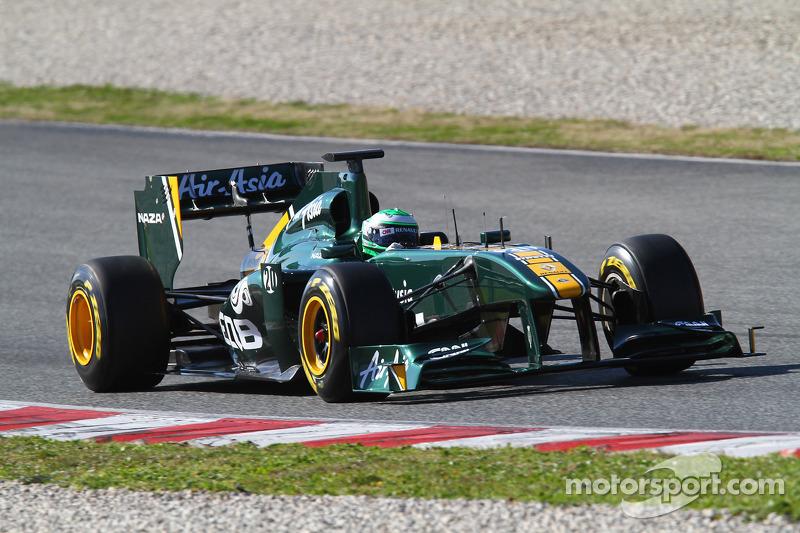 2011 - Team Lotus