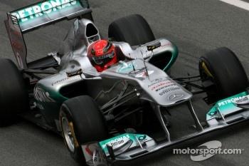 Michael Schumacher, Mercdes