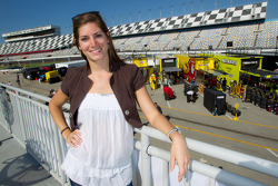 Swiss driver Cyndie Allemann looking to enter NASCAR racing