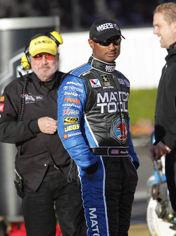 Antron Brown, pilot of the Matco Tools Top Fuel Dragster