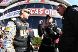 Top Fuel drivers Tony Schumacher,