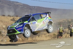 Denis Kuipers and Frederic Miclotte, Ford Fiesta WRC