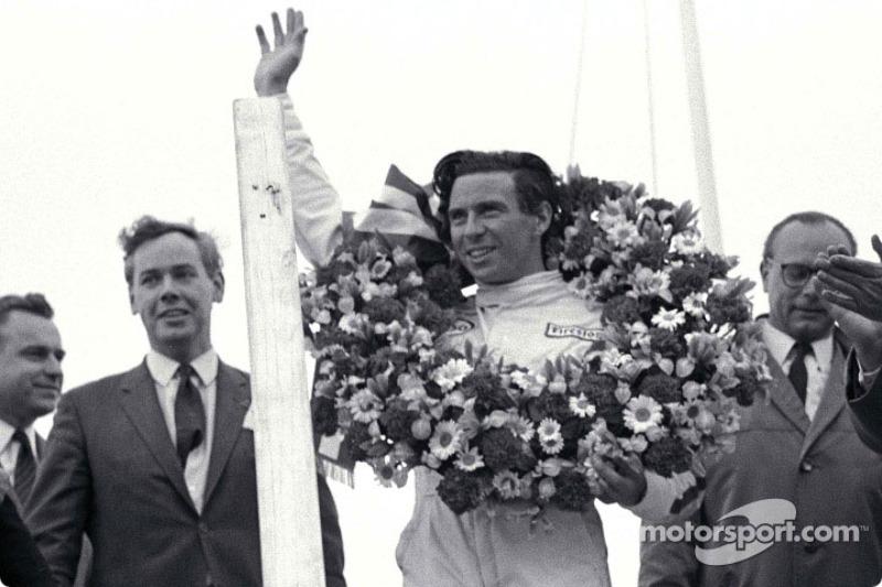 Grand Prix des Pays-Bas 1967 : le vainqueur Jim Clark