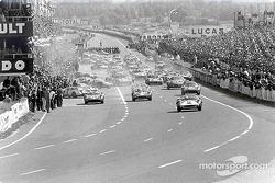 Start zu den 24 Stunden von Le Mans 1964