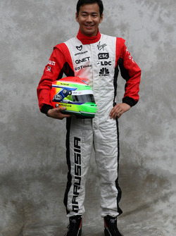 Sakon Yamamoto, test driver, Virgin F1 Team