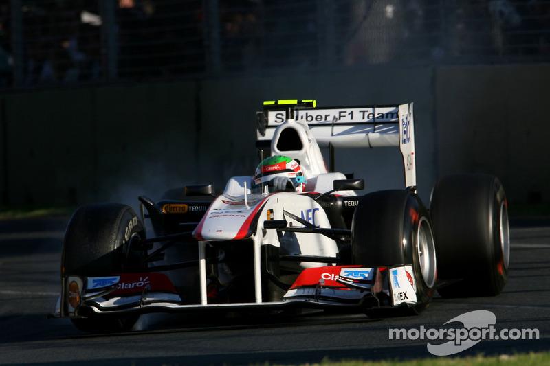 Debut, GP de Australia 2011