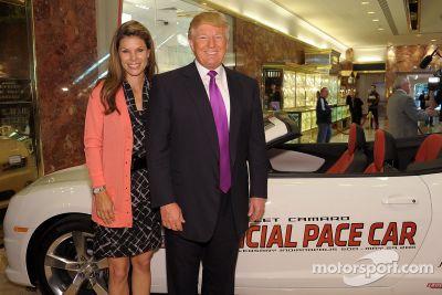 Annonce de Donald Trump, Indy 500