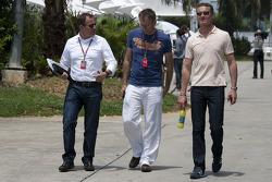 Martin Brundle, Mark Hughes, David Coulthard