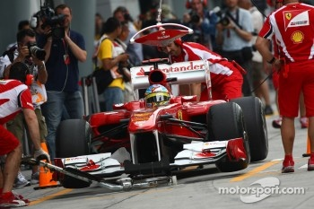 Ferrari is preparing for Chinese GP
