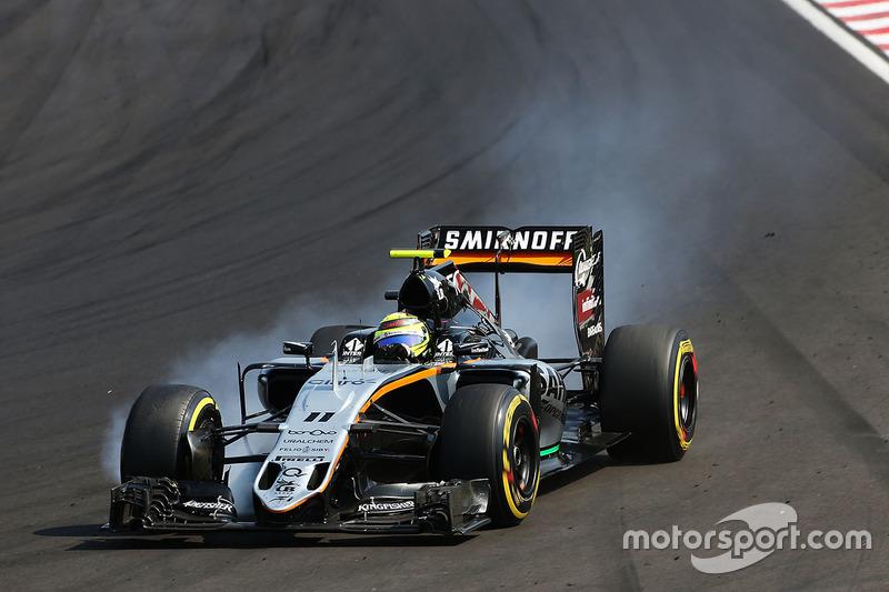 11. Sergio Perez, Sahara Force India F1 VJM09