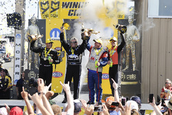 Tony Schumacher, John Force, Allen Johnson, Andrew Hines