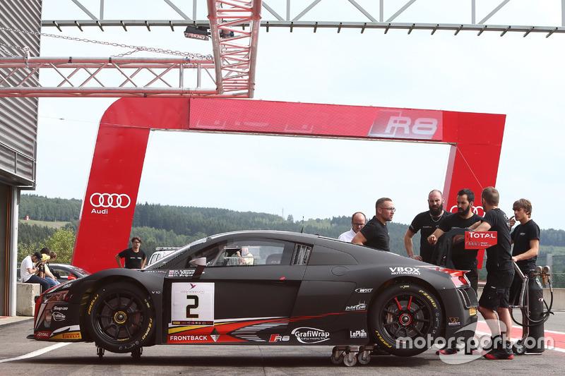 13. #2 Belgian Audi Club Team WRT, Audi R8 LMS: Stuart Leonard, Michael Meadows, Robin Frijns