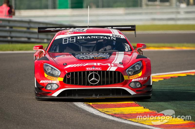 2. #88 AMG-Team AKKA ASP, Mercedes-AMG GT3