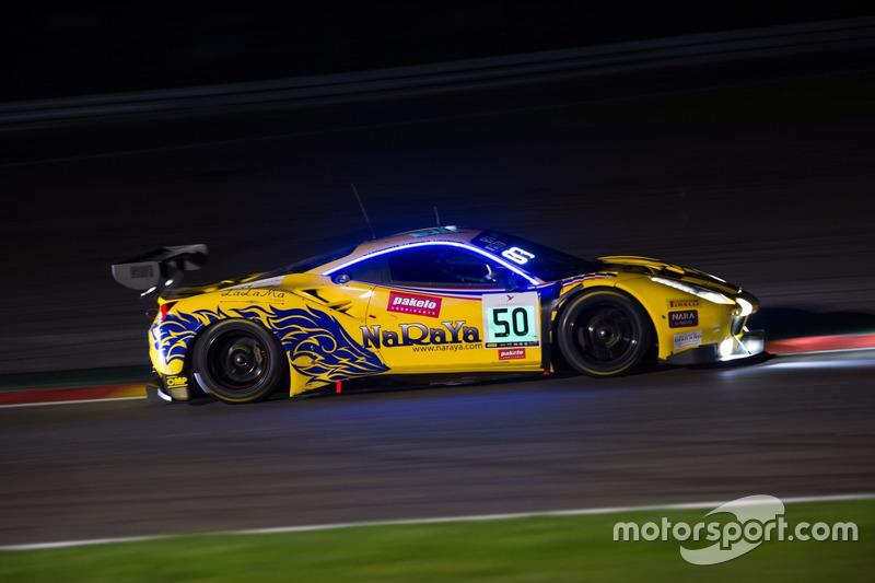 11. #50 AF Corse, Ferrari 488 GT3: Pasin Lathouras, Michele Rugolo, Alessandro Pier Guidi