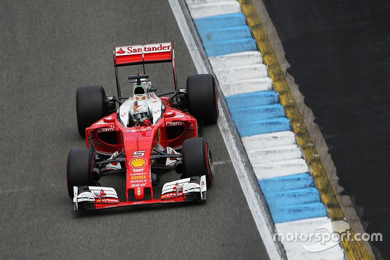 6: Sebastian Vettel, Ferrari SF16-H