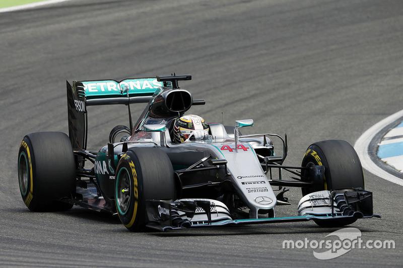 2016 - Hockenheim: Lewis Hamilton, Mercedes F1 W07 Hybrid