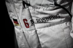 Nico Rosberg, Mercedes AMG F1 - race suit