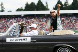 Серхіо Перес, Sahara Force India F1 на параді пілотів