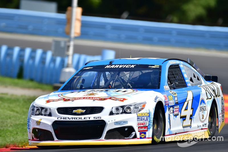 32. Kevin Harvick, Stewart-Haas Racing, Chevrolet (Crash)