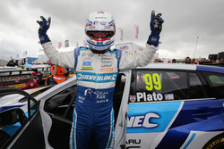 Polesitter Jason Plato, Silverline Subaru BMR Racing