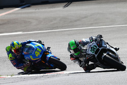 Eugene Laverty, Aspar Racing Team, Aleix Espargaro, Team Suzuki Ecstar MotoGP