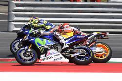 Jorge Lorenzo, Yamaha Factory Racing, Valentino Rossi, Yamaha Factory Racing, Marc Marquez, Repsol Honda Team