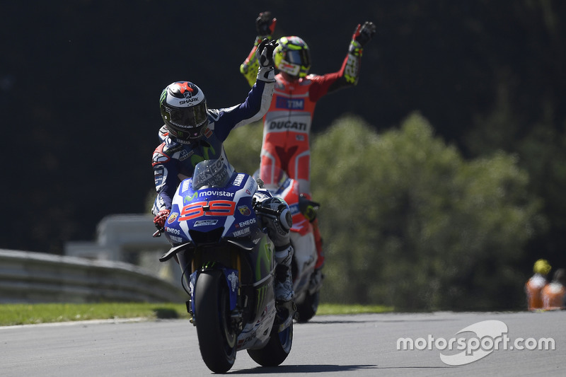 Il terzo classificato Jorge Lorenzo, Yamaha Factory Racing