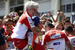 Gigi Dall'Igna, Geschäftsführer Ducati Corse, Andrea Iannone, Ducati Team