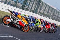 Line de motos de Moto GP