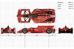 Ken Okuyama Design and Dome design proposal of next Formula E chassis
