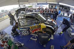 Car of Sébastien Ogier, Julien Ingrassia, Volkswagen Polo WRC, Volkswagen Motorsport