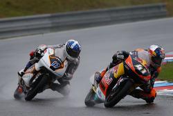 Brad Binder, Red Bull KTM Ajo; John McPhee, Peugeot MC Saxoprint