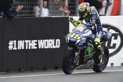 Il secondo classificato Valentino Rossi, Yamaha Factory Racing