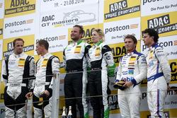 Podium: Sieger #50 YACO Racing, Audi R8 LMS: Philip Geipel, Rahel Frey; 2 #5 HB Racing Lamborghini Huracán GT3: Norbert Siedler, Jaap van Lagen; 3. #1 AMG - Team Zakspeed Mercedes-AMG GT3: Luca Ludwig, Sebastian Asch